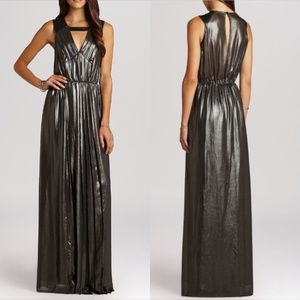 BCBGeneration   Cocktail Long Pleated Dress
